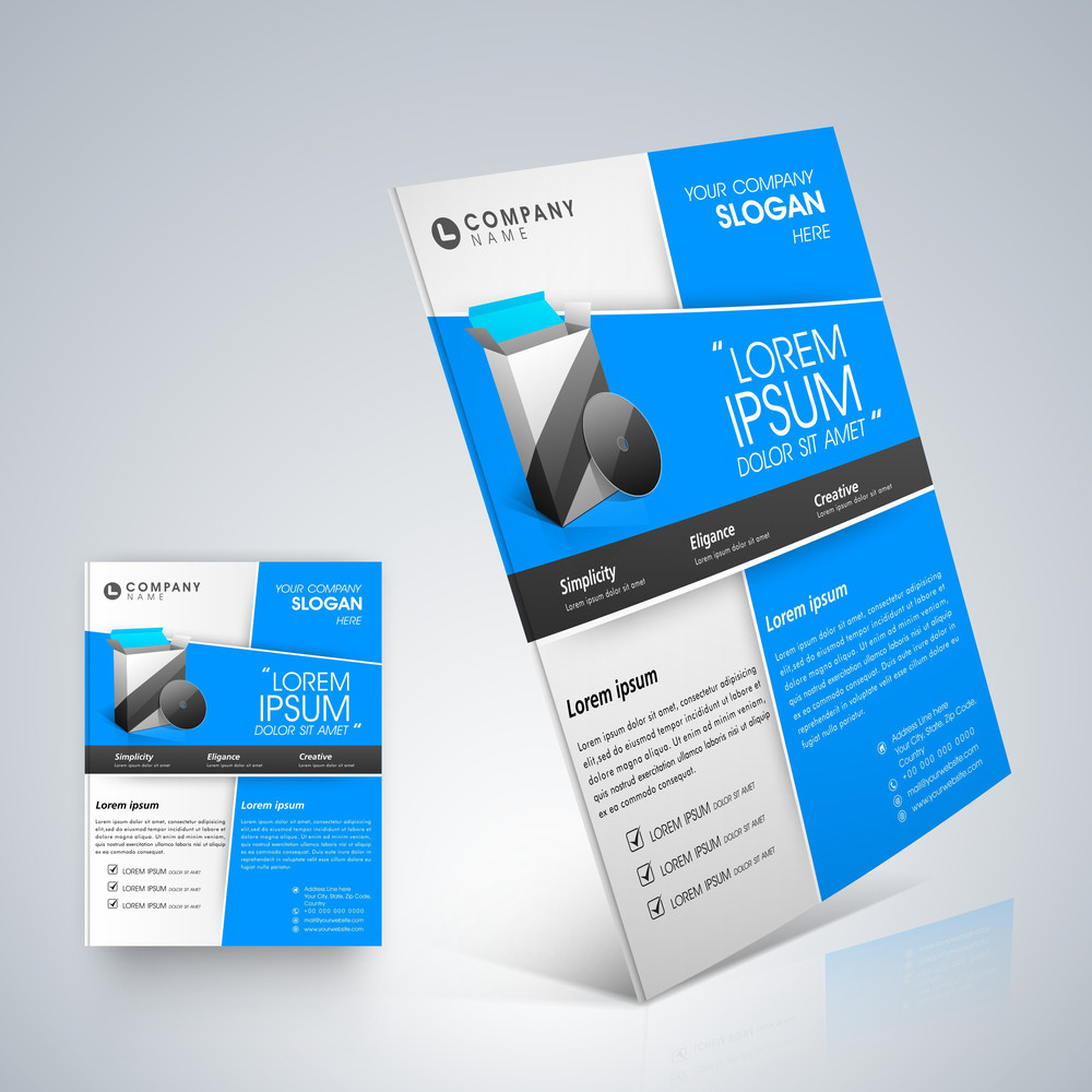 Professional business flyer template royalty free stock image professional business flyer template accmission Gallery