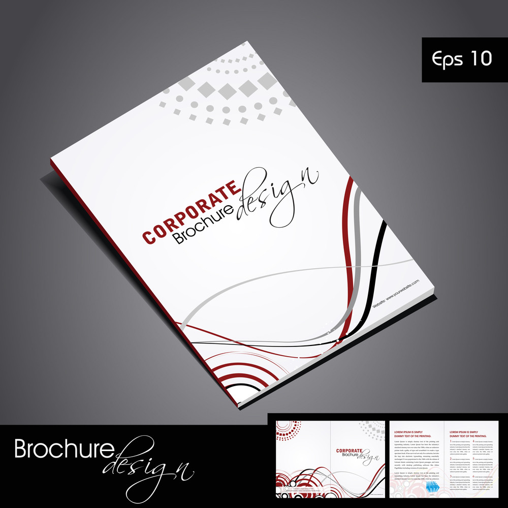 Professional Business Vector & Corporate Brochure Design