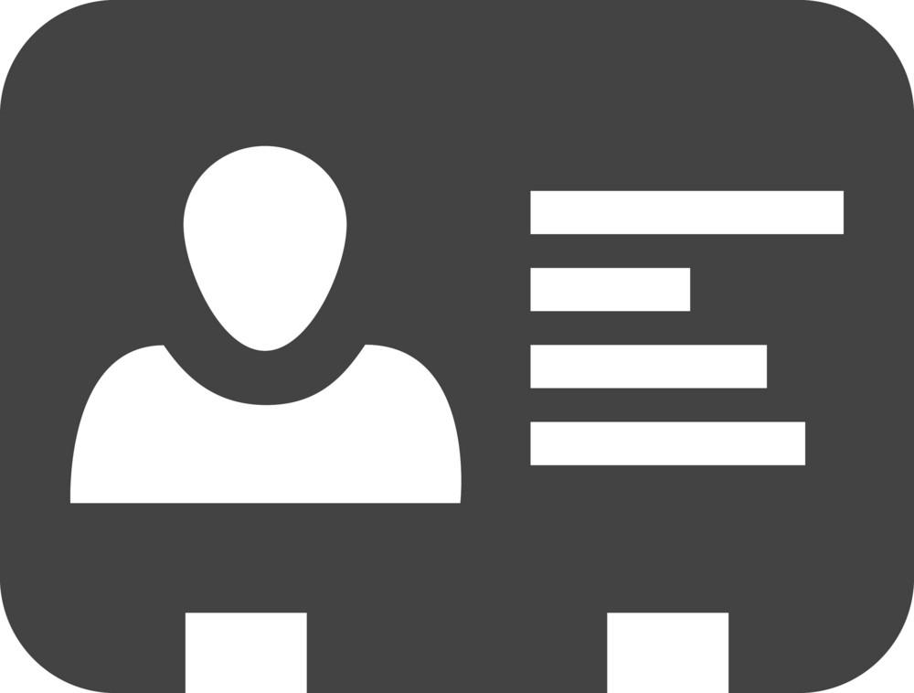 Profile Glyph Icon