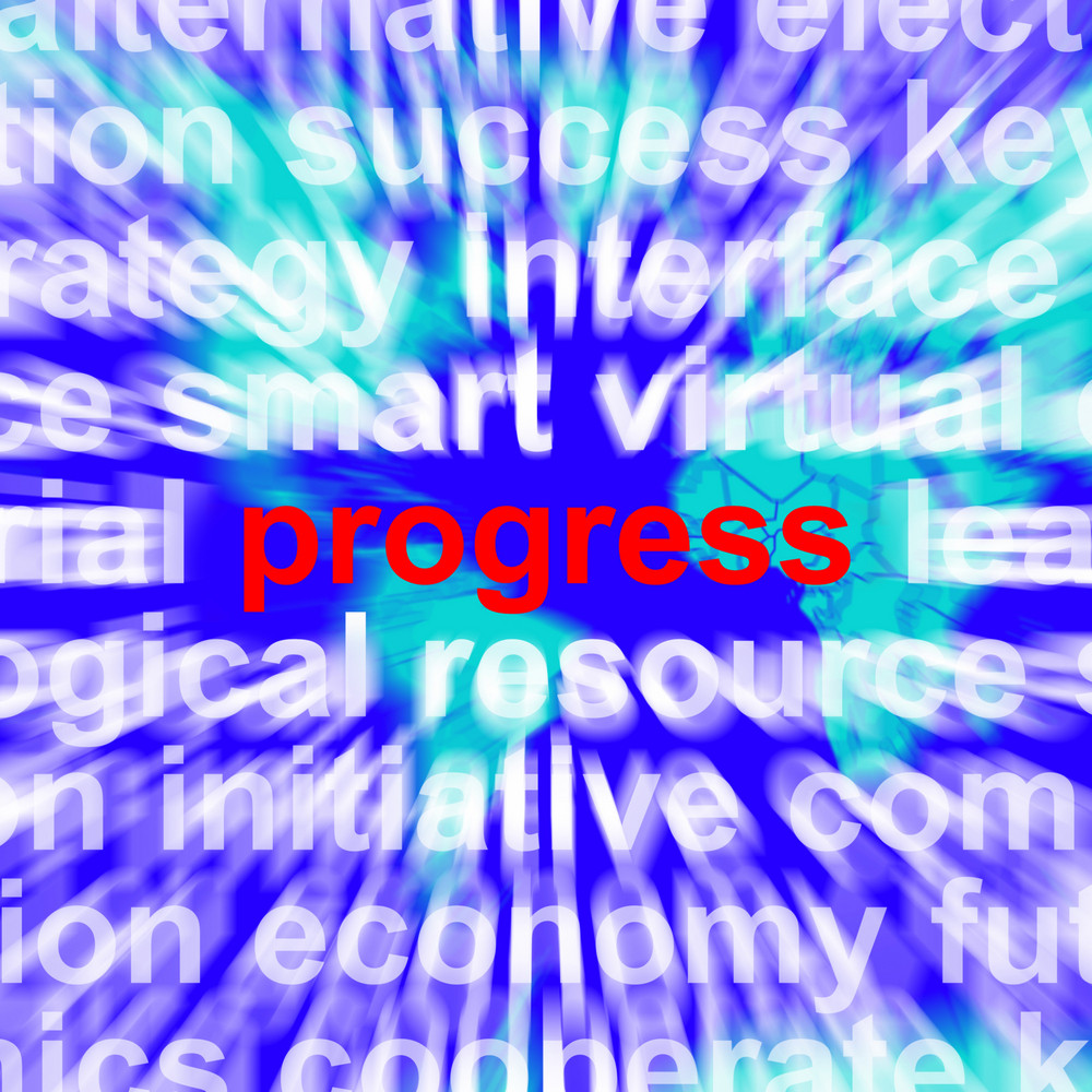Progress Word Meaning Growth Profit And Improvement
