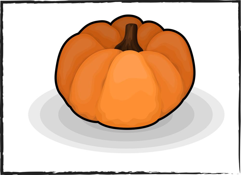 Pumpkin Vector Design