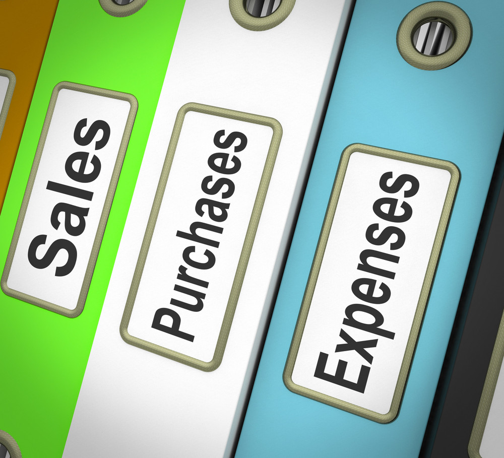 Purchases Sales Expenses Files Containing Records Of Transactions