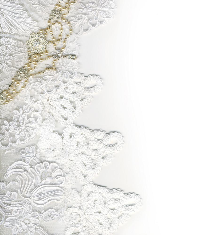 Pure White Luxury Wedding Border