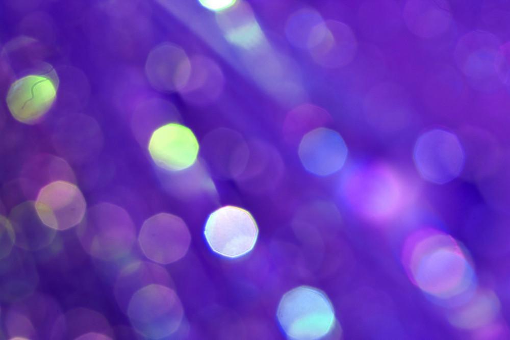 Purple Bright Blur Bubbles