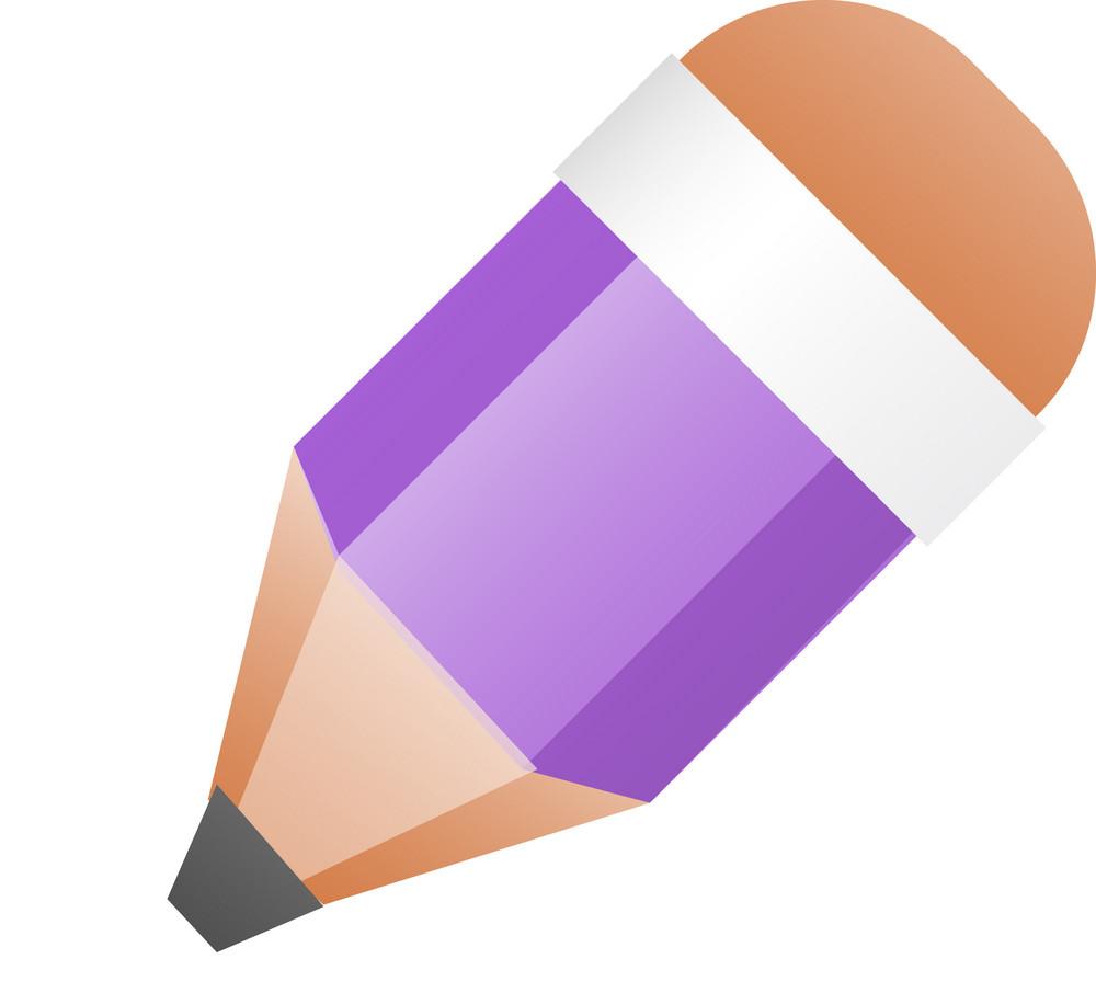 Purple Pencil