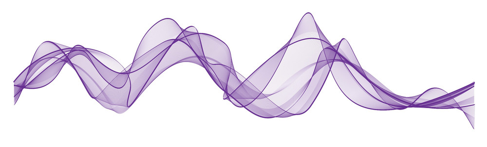 Purple Waved Lines
