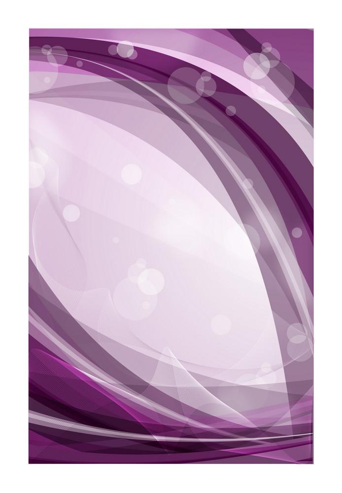 Purple Wavy Vector