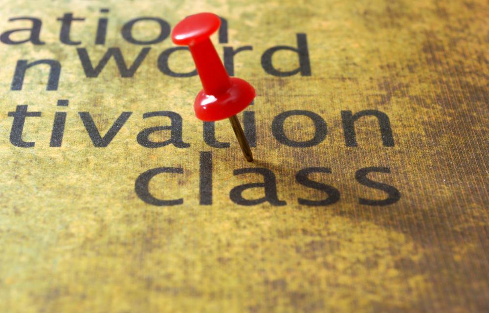 Push Pin On Class Text