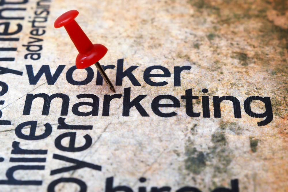 Push Pin On Marketing Text