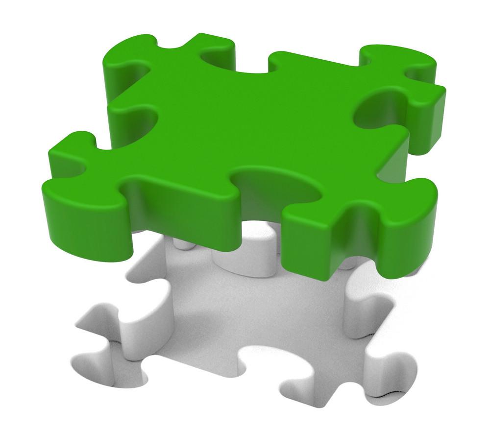 Puzzle Piece Shows Individual Object Problem