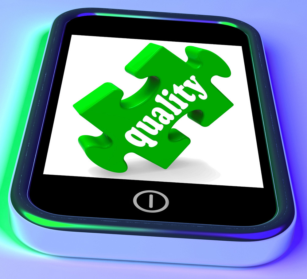 Quality On Smartphone Shows Excellence