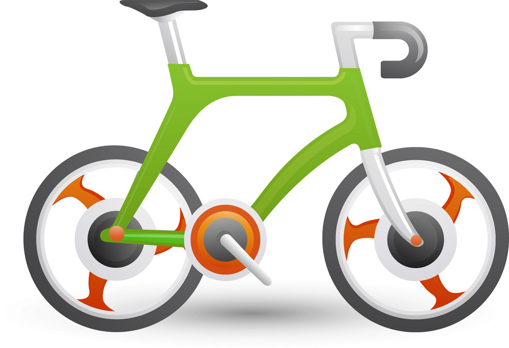 Racing Bicycle Lite Sports Icon