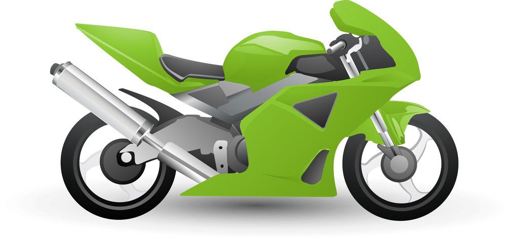 Racing Motorbike Lite Sports Icon
