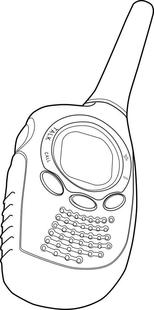 Radio Phone Walkie Talkie