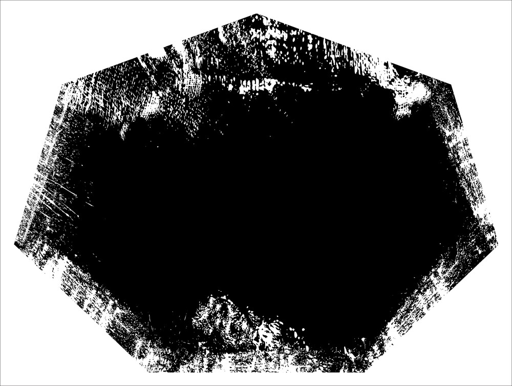 Ragged Border - Grunge Vector Illustration Background