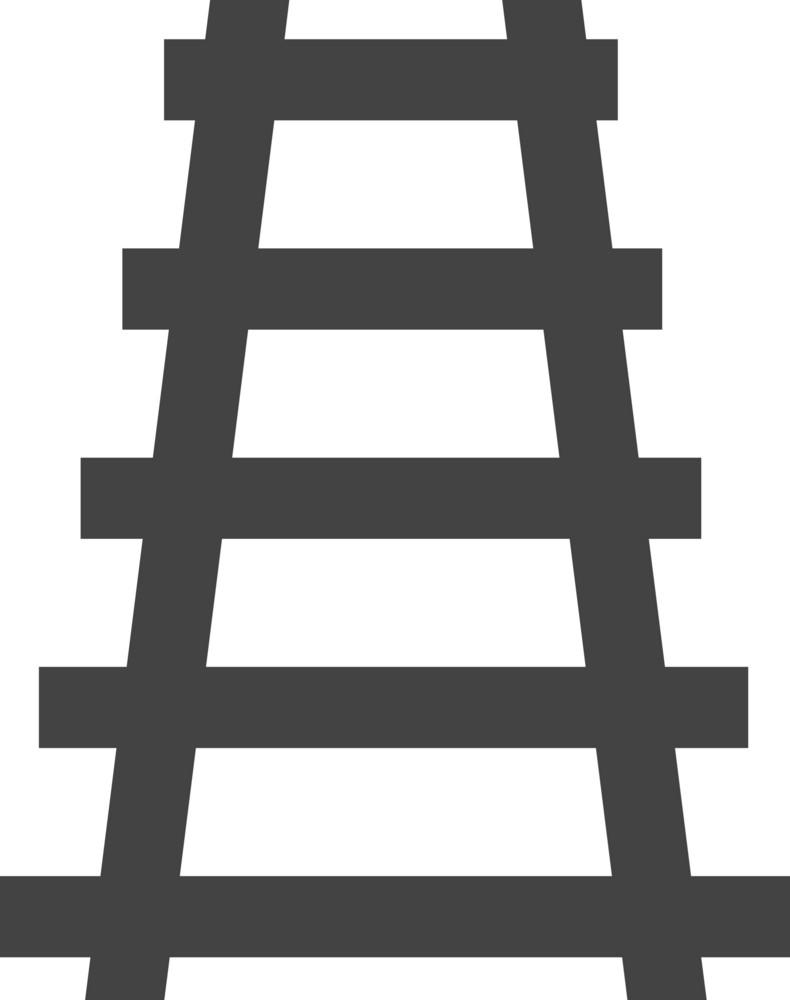 Rail Glyph Icon