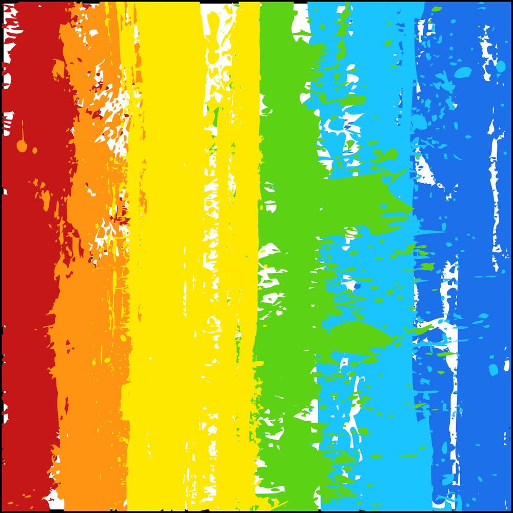 Rainbow Color Splash Grunge Background