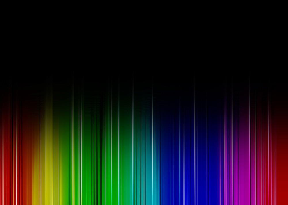 Rainbow Dark Background