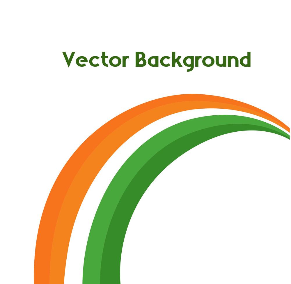 Rainbow Design Element Background