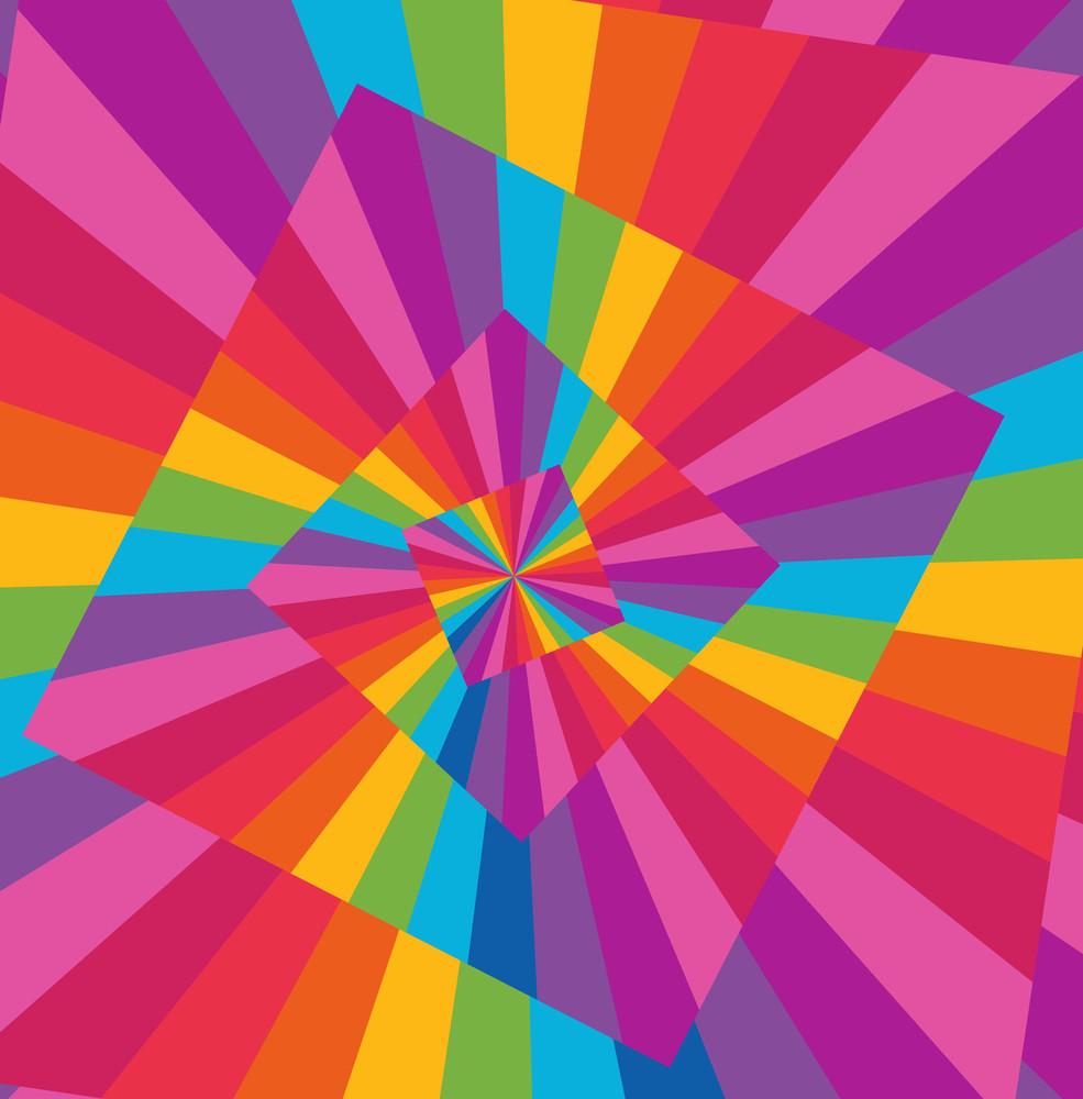 Rainbow Spectrum Background