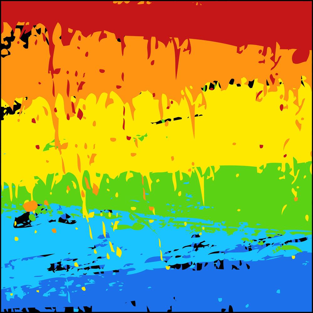 Rainbow Splash Background