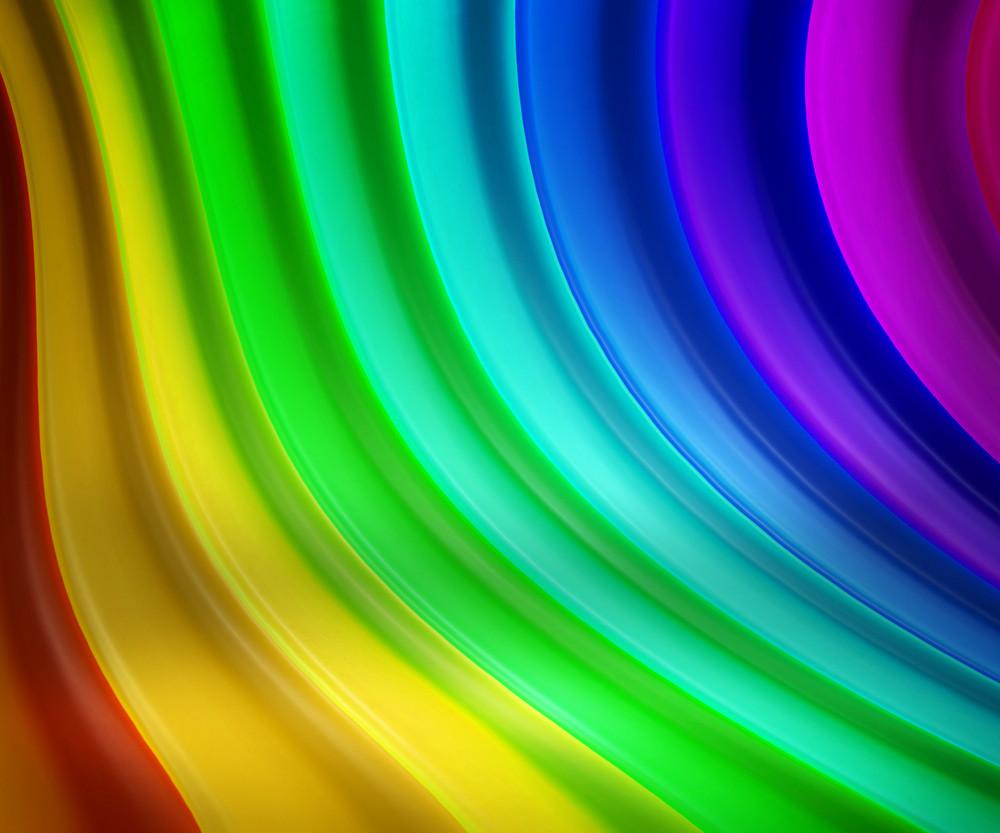 Rainbow Stage Background