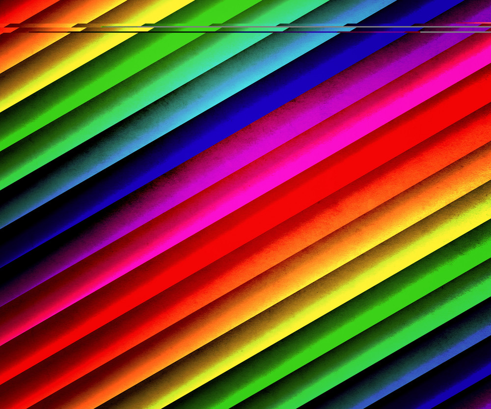 Rainbow Stripes Backdrop