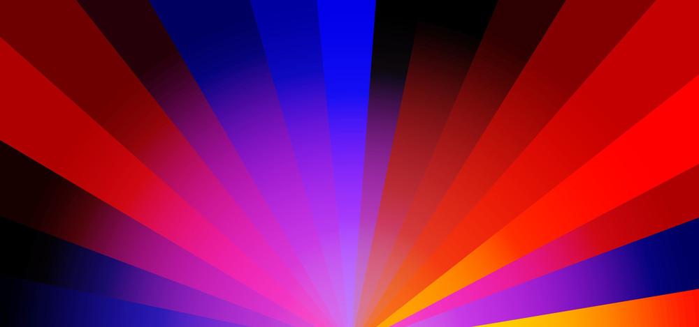 Rainbow Stripes Banner