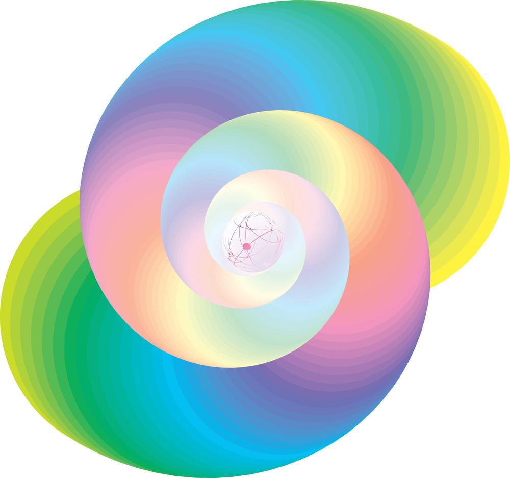 Rainbow. Vector.