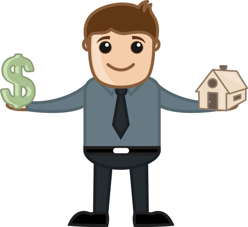 Real Estate Business - Vector Illustration