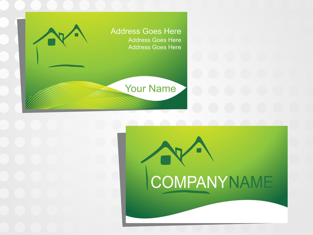 Real State Business Card With Logo_14
