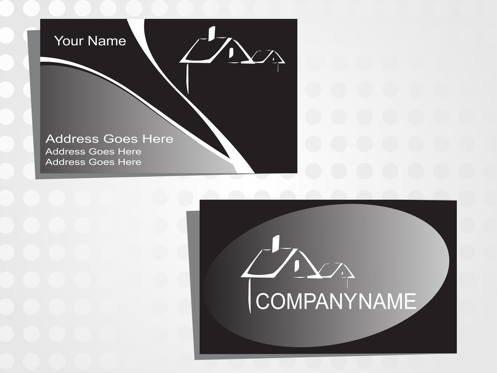 Real State Business Card With Logo_16