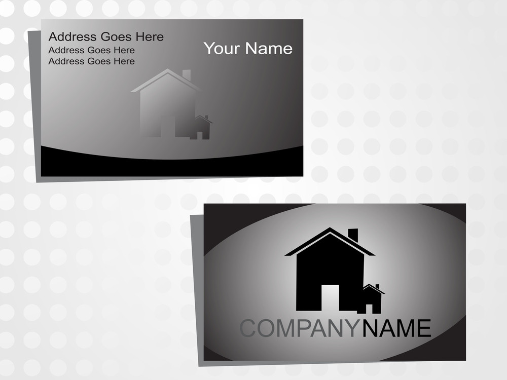 Real State Business Card With Logo_1