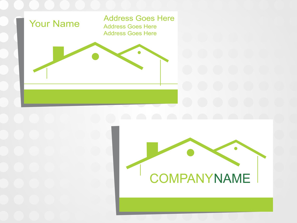 Real State Business Card With Logo_21