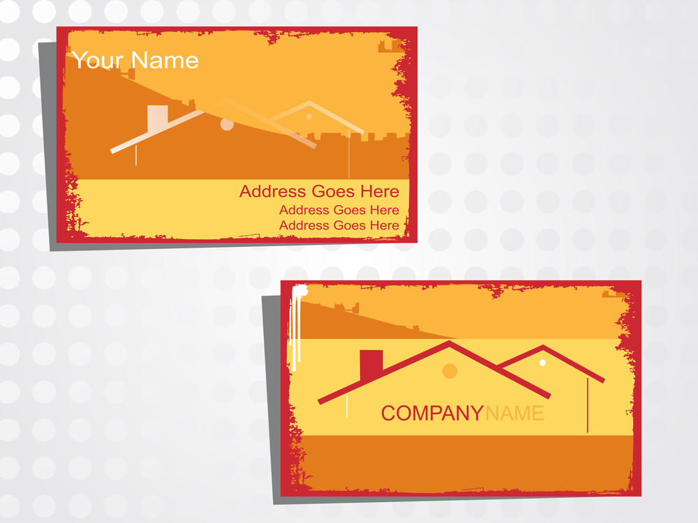 Real State Business Card With Logo_3