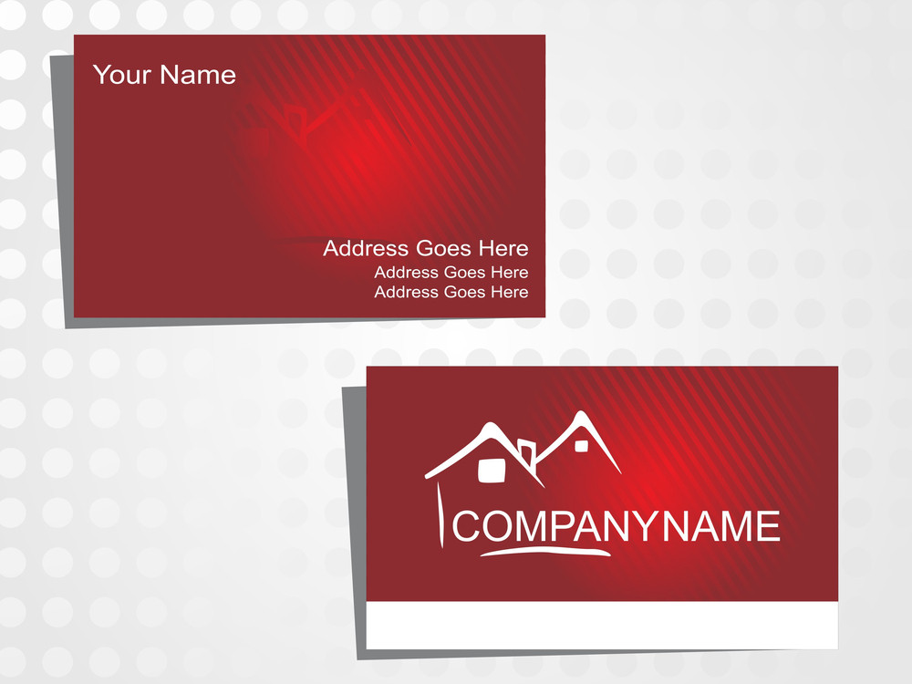 Real State Business Card With Logo_6