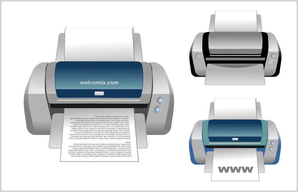 Realistic Vector Printer