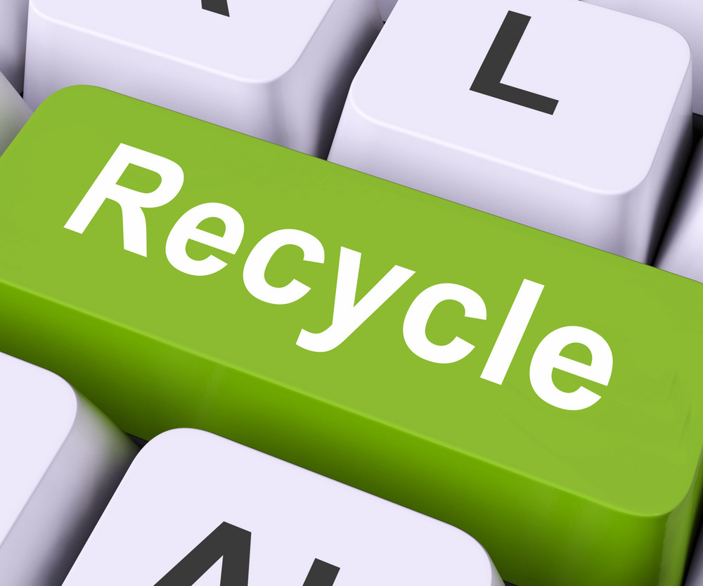 Recycle Key Means Reuse Or Salvage