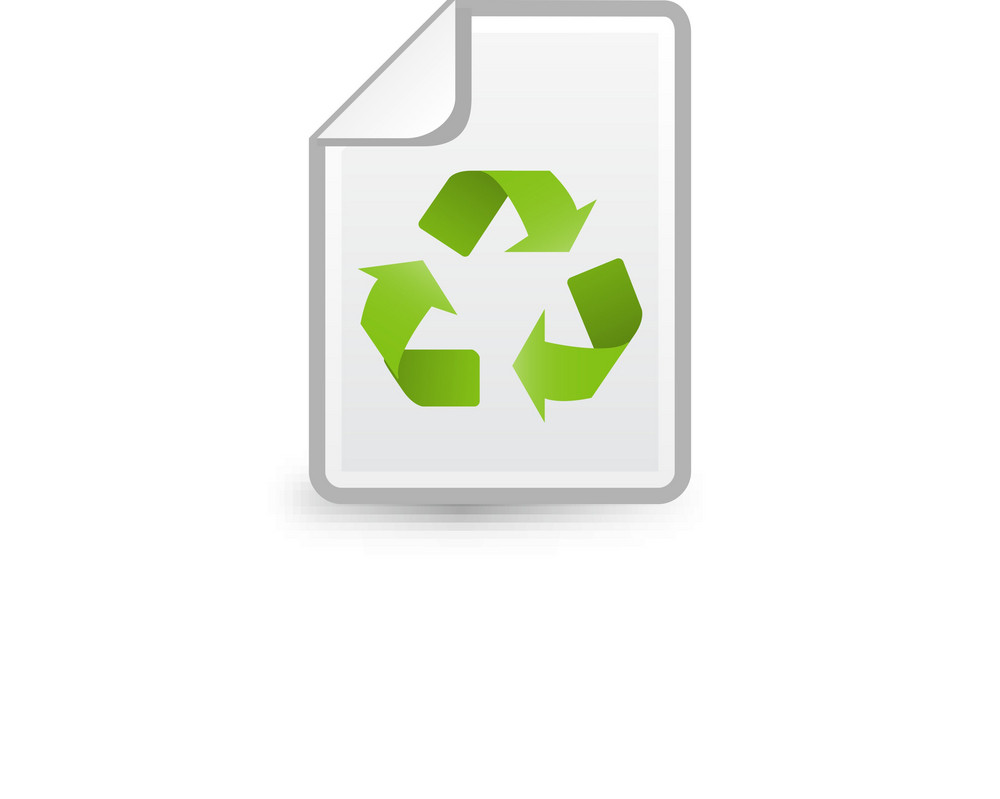 Recycle Paper Lite Plus Icon