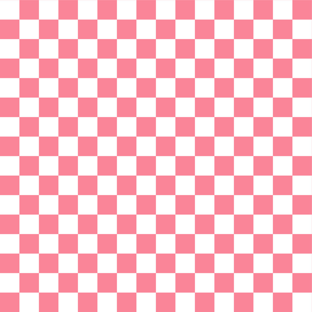 Red And White Checkerboard Pattern