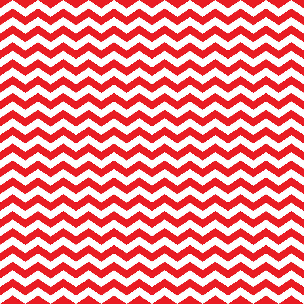 Red And White Chevron Pattern On England Paper
