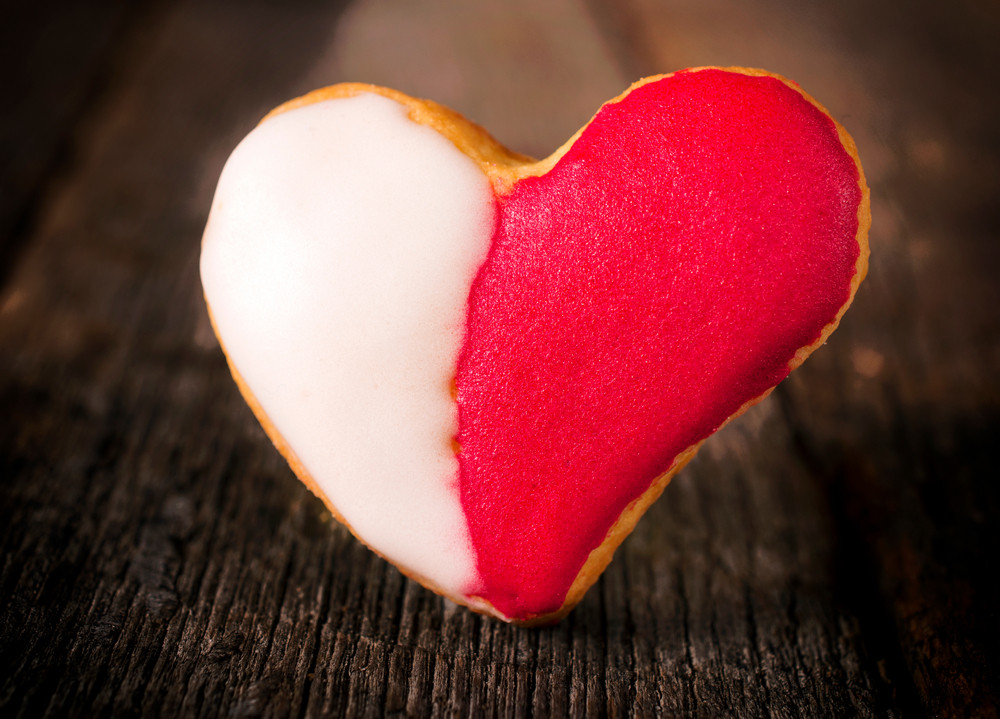 Red And White Cookie