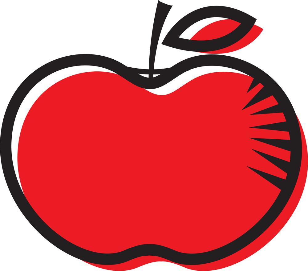 red apple clipart design royalty free stock image storyblocks rh storyblocks com  red and green apple clip art