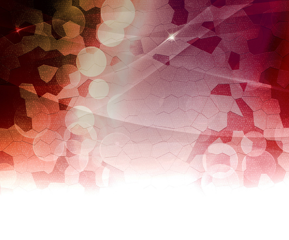 Red Biological Abstract Background