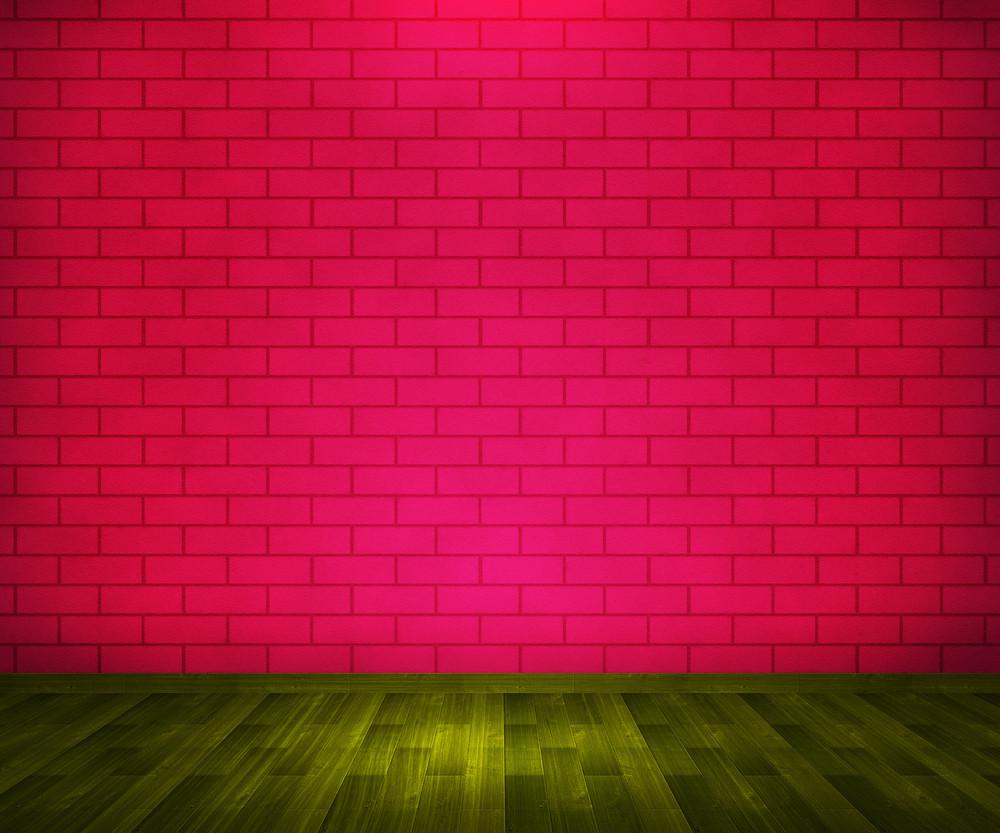 Red Brick Room Background