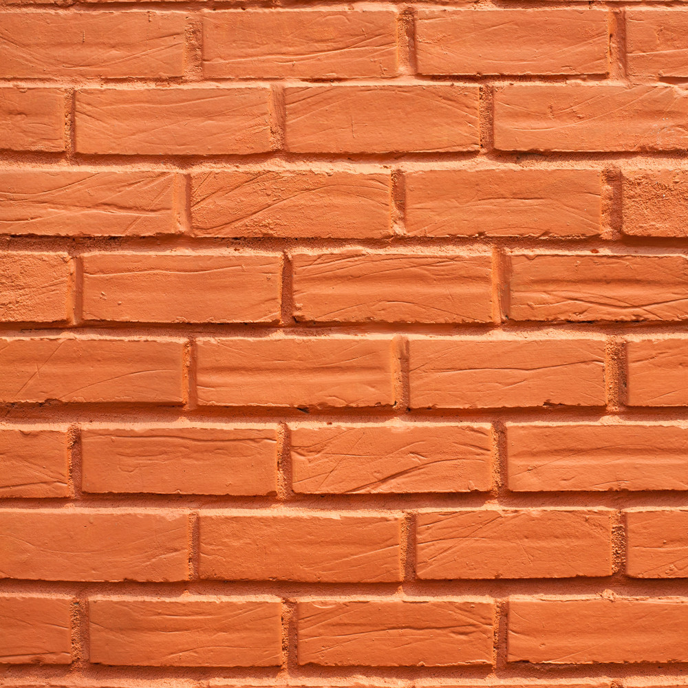Red brick wall texture and background