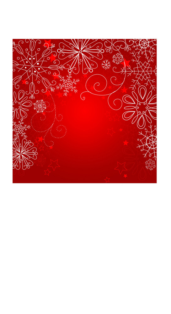 Red Christmas Background-
