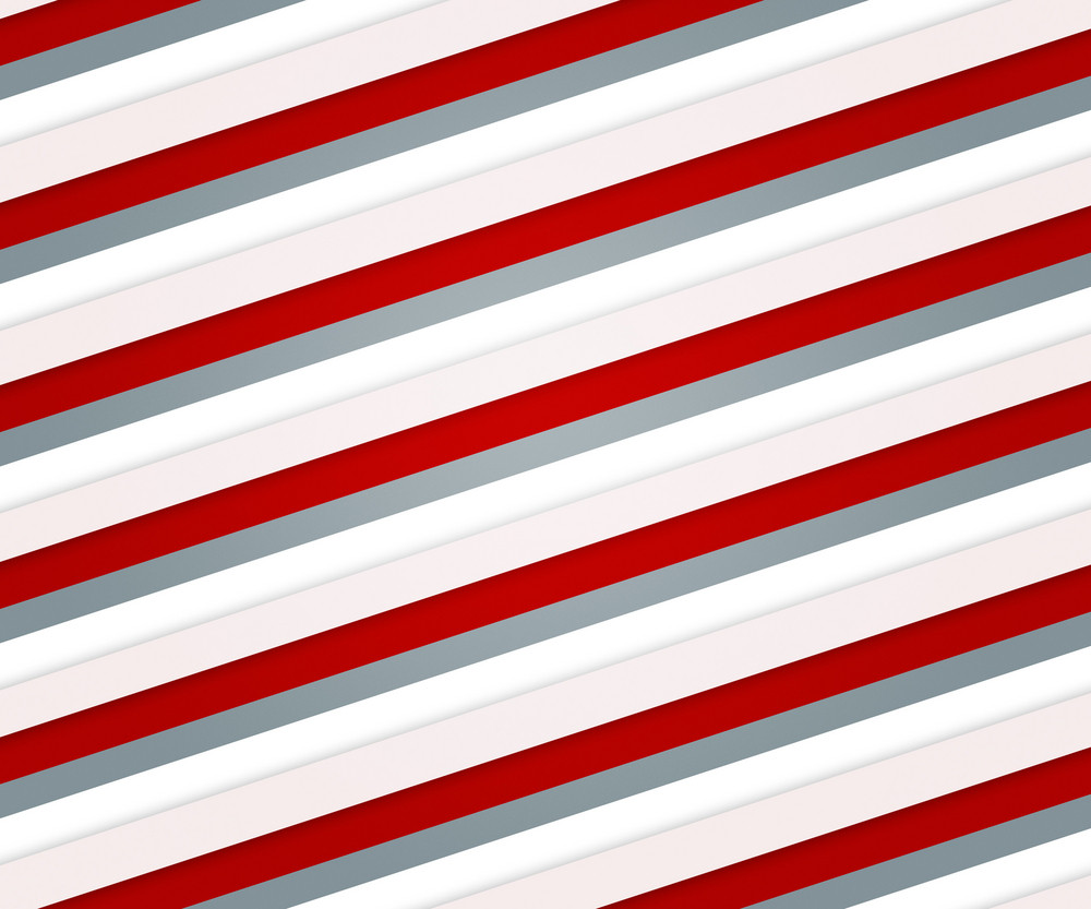 Red Clean Stripes Backdrop