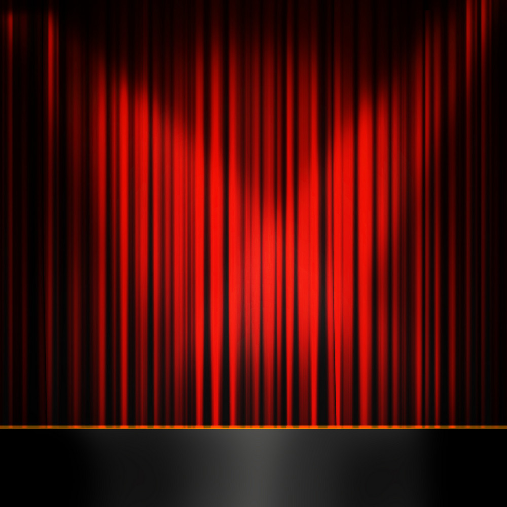 Red Curtain Room