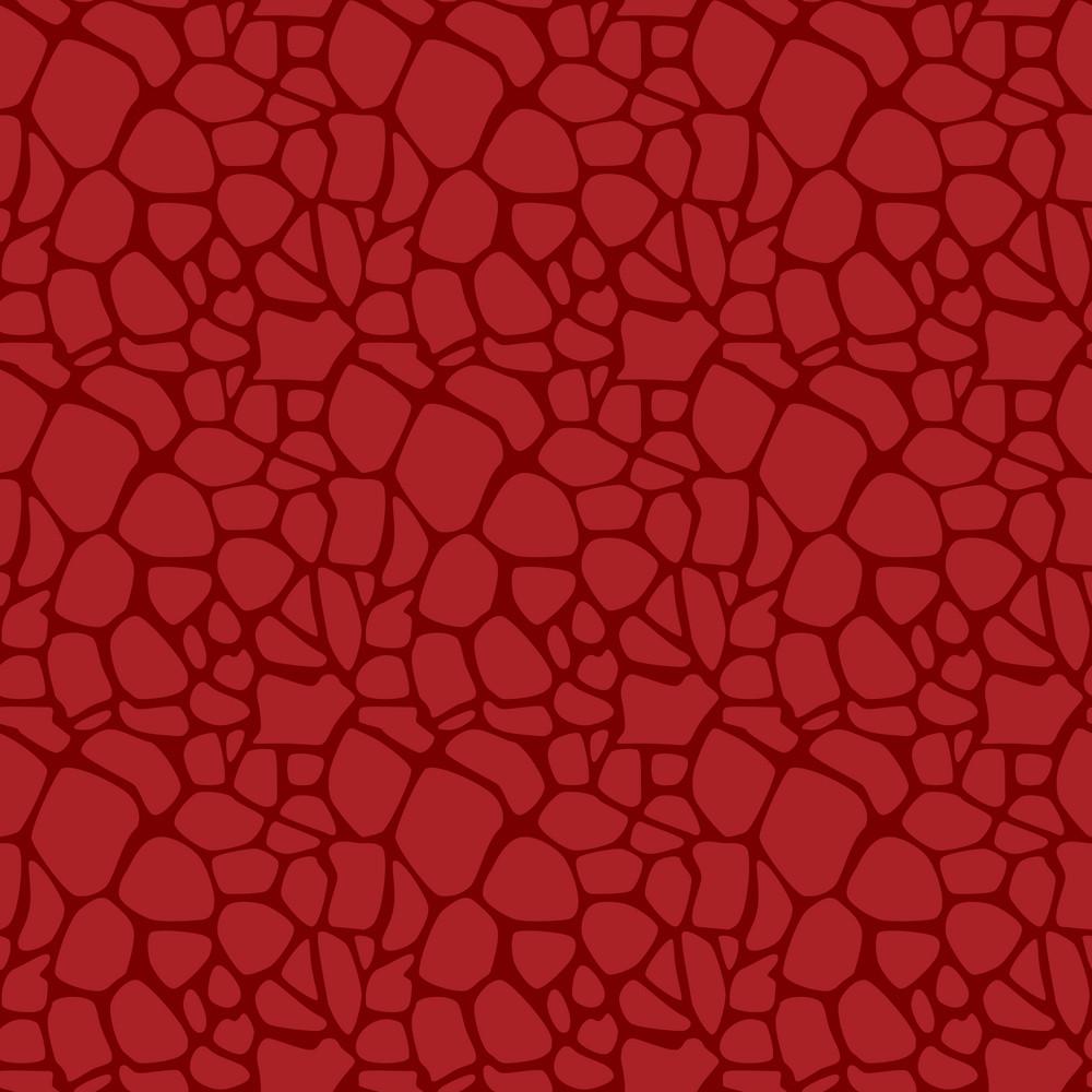 Red Dinosaur Skin Pattern